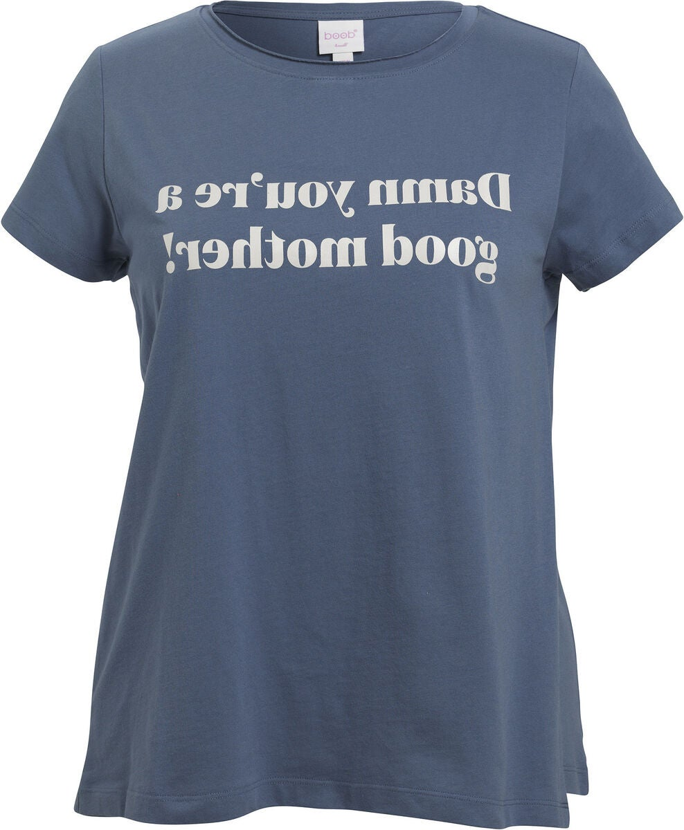 Boob Chari-Tee Mother, Country Blue
