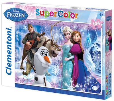 Disney Frozen Pussel SuperColor 104 bitar