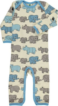 Småfolk Elefant Jumpsuit, Air Blue