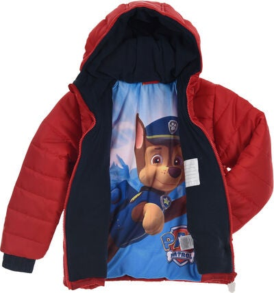 Paw Patrol Puffer Jacka, Red