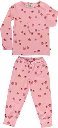 Småfolk Äpple Pyjamas, Sea Pink