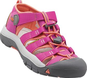 KEEN Newport H2 Toddlers Sandal, Very Berry/Fusion Coral