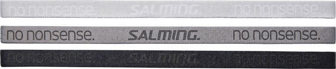 Salming Hårband 3-pack, Cloud/Stone/Black