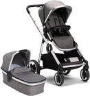 Beemoo Twin Travel+ 2020 Duovagn, Dark Grey