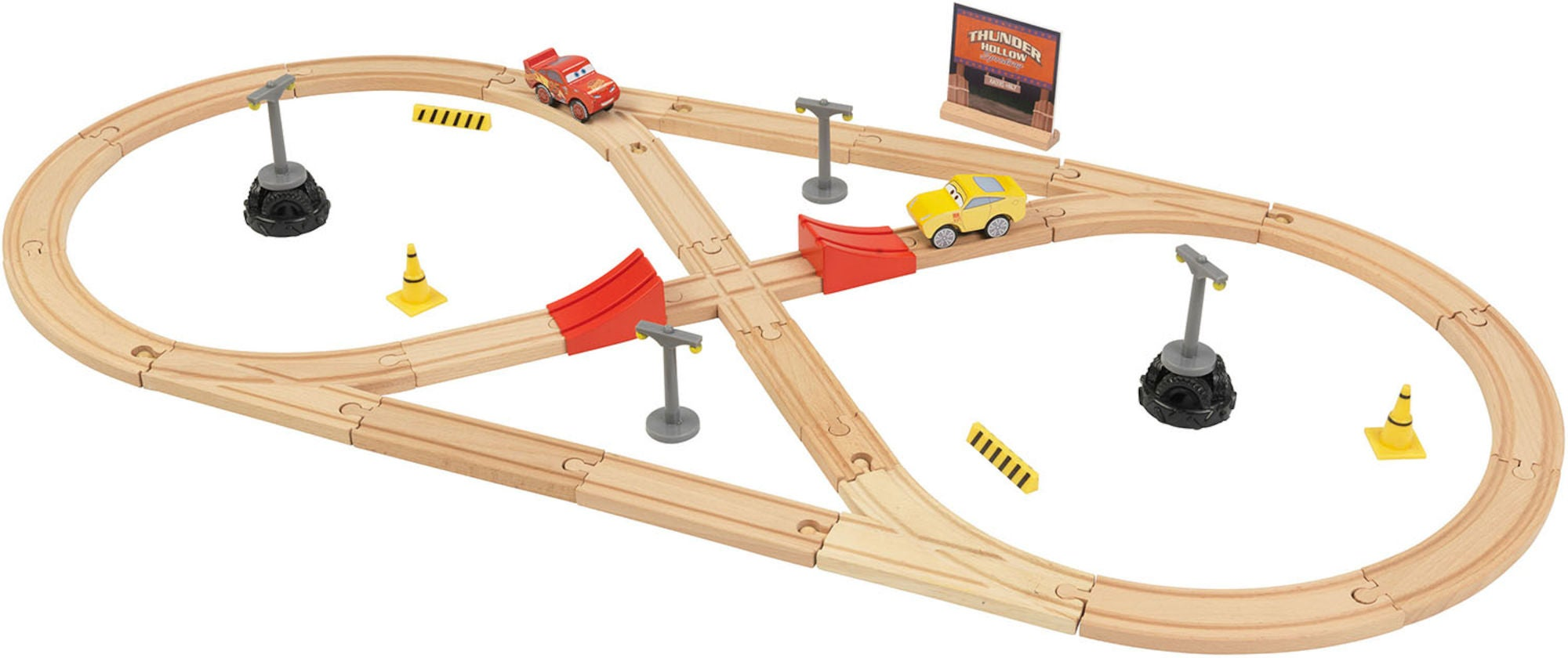 Disney Cars 3 Bygg Din Egen Tågbana
