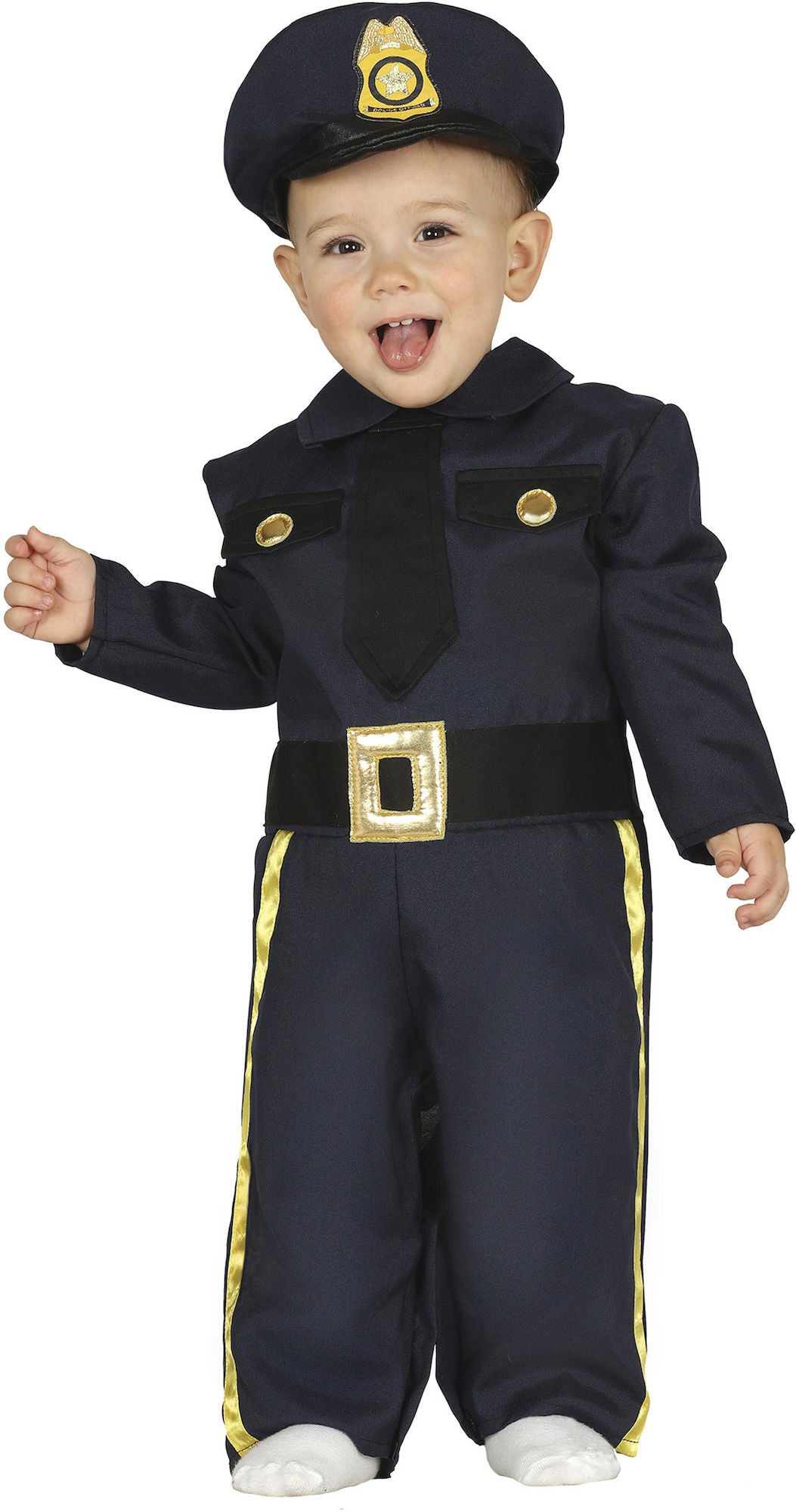 Köp Fiestas Guirca Kostym Polis  5d0a25c7328c0