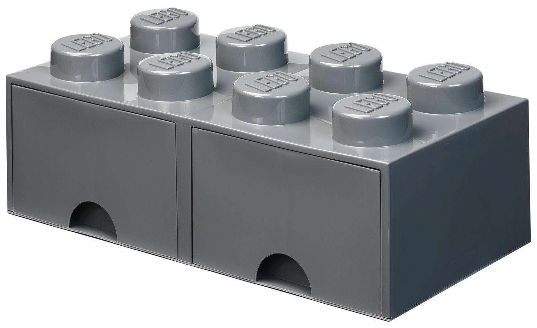LEGO Förvaring med låda 8, Dark Grey