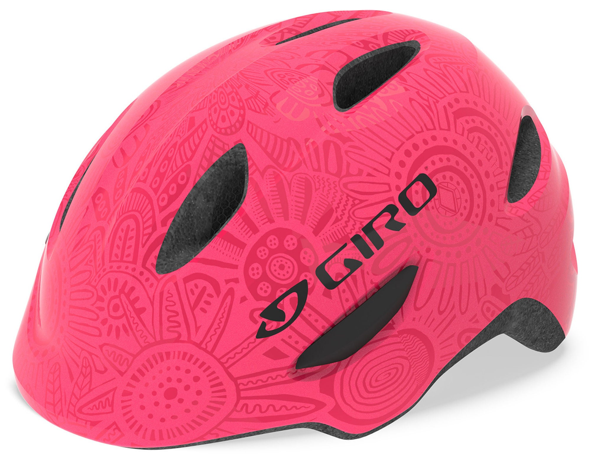 Giro Scamp MIPS Cykelhjälm, Bright Pink Pearl XS