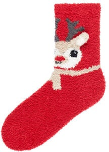Name it Ruffle Terry Socka, Jester Red
