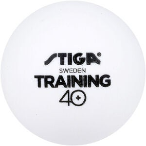 STIGA Bordtennisboll Training ABS 6-pack, Vit