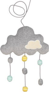 Geggamoja Mobil Cloud, Light Grey