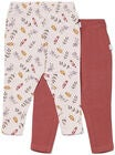 Luca & Lola Linda Leggings 2-pack Baby, Flowers/Pink