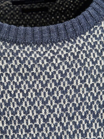 Jack & Jones Deep Knit Tröja, Vintage Indigo