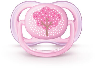 Philips Avent Ultra Air Napp 0-6m, Rosa Deco