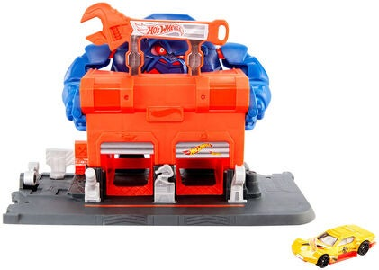 Hot Wheels City Lekset Gorilla Rage Garage Attack