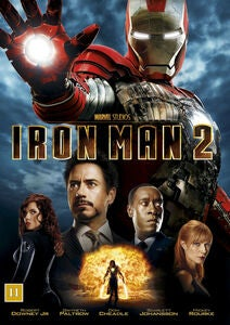 Marvel Avengers Iron Man 2 DVD