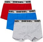 Diesel Ugov 3-pack Kalsong, Red/Blue/Grey Melange