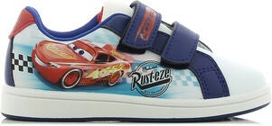 Disney Cars Sneaker, White/Blue