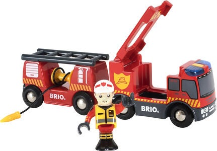BRIO World 33811 Brandbil