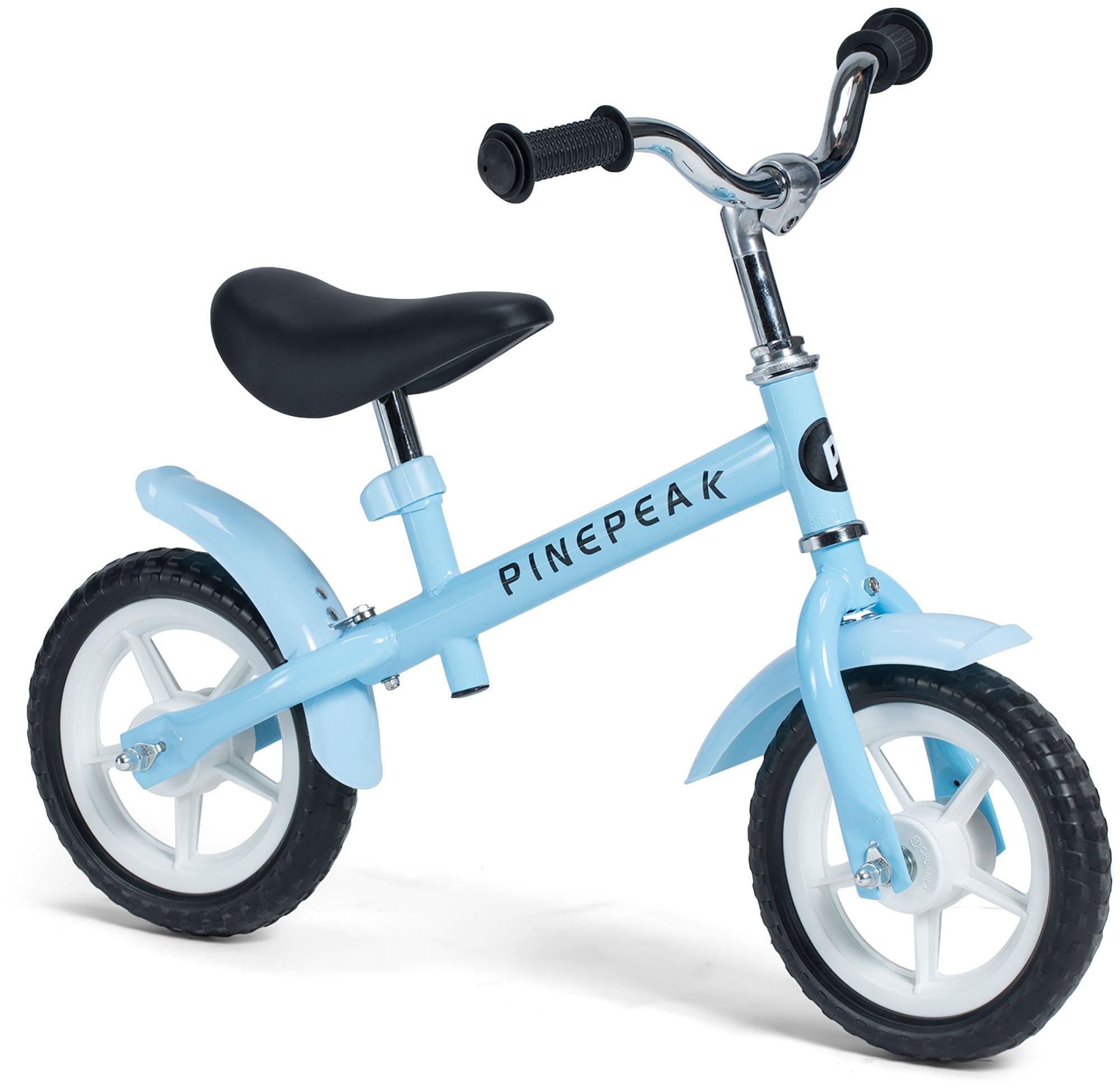 Pinepeak Springcykel Komfort 10 tum, Blå