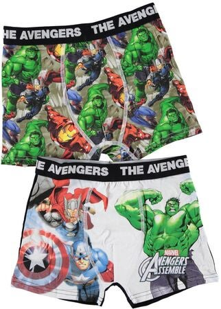 Name it Kids Kalsonger 2-pack Avengers Grey Melange