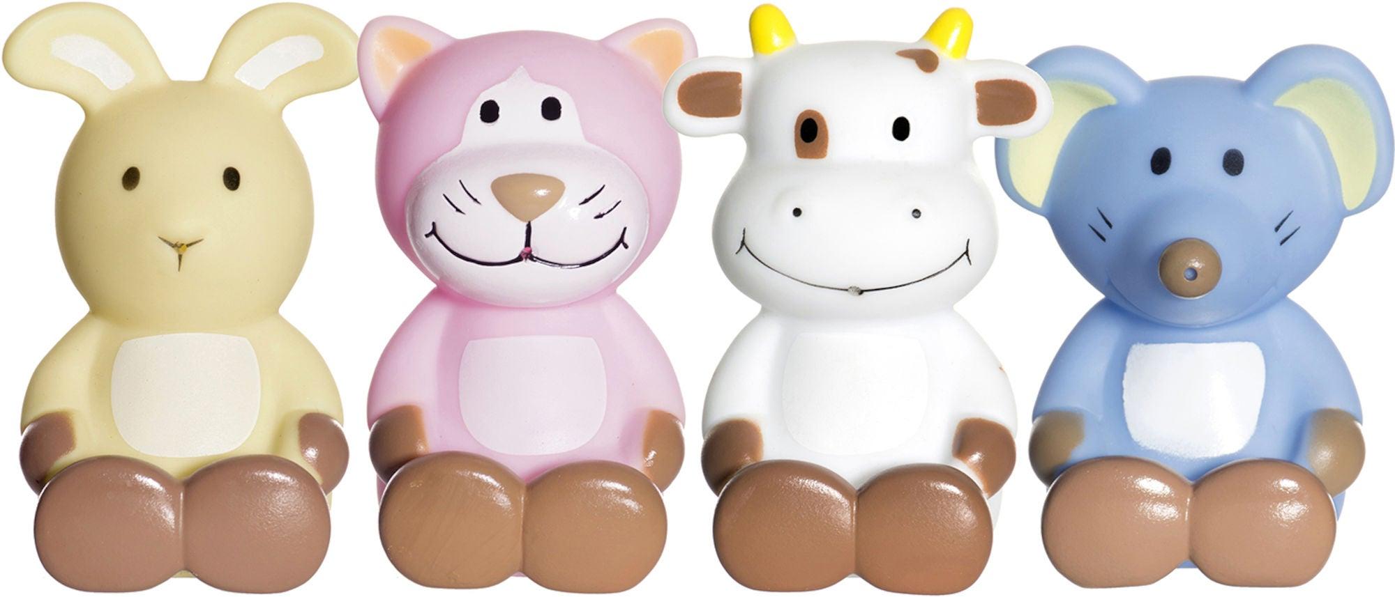 Teddykompaniet Diinglisar Badleksaker 4-pk