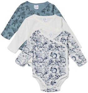 Luca & Lola Alexie Body 3-pack, White
