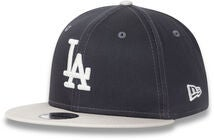 New Era League Essential 950 KIDS LOS Keps, Graphite/Off White