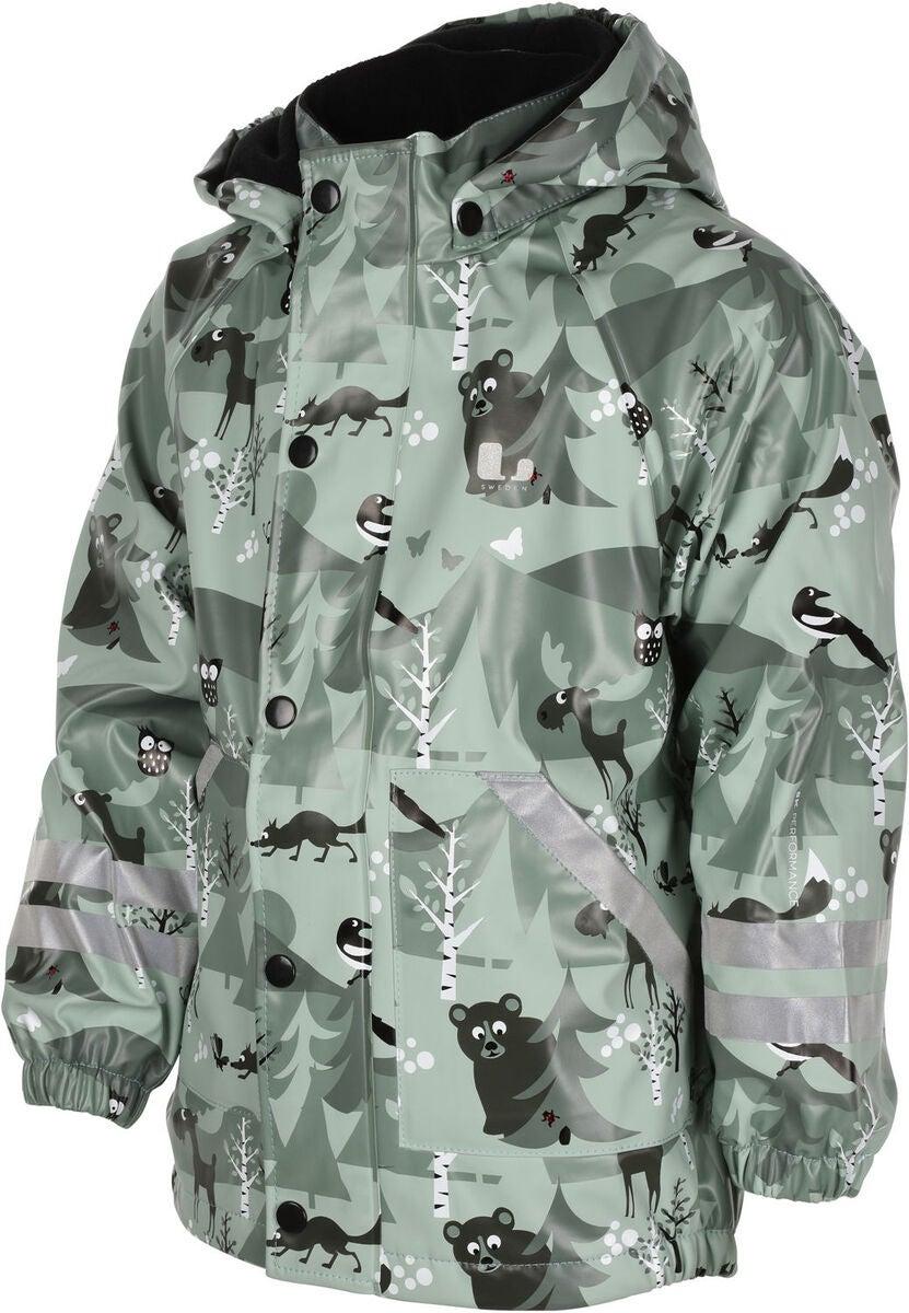 lindberg regnställ fleece