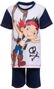 Disney Jake & Piraterna Klädset, Dark Blue/White