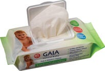 GAIA Baby Wipes Bambus 80-pack