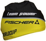 Fischer Beanie Mössa, Black/Yellow