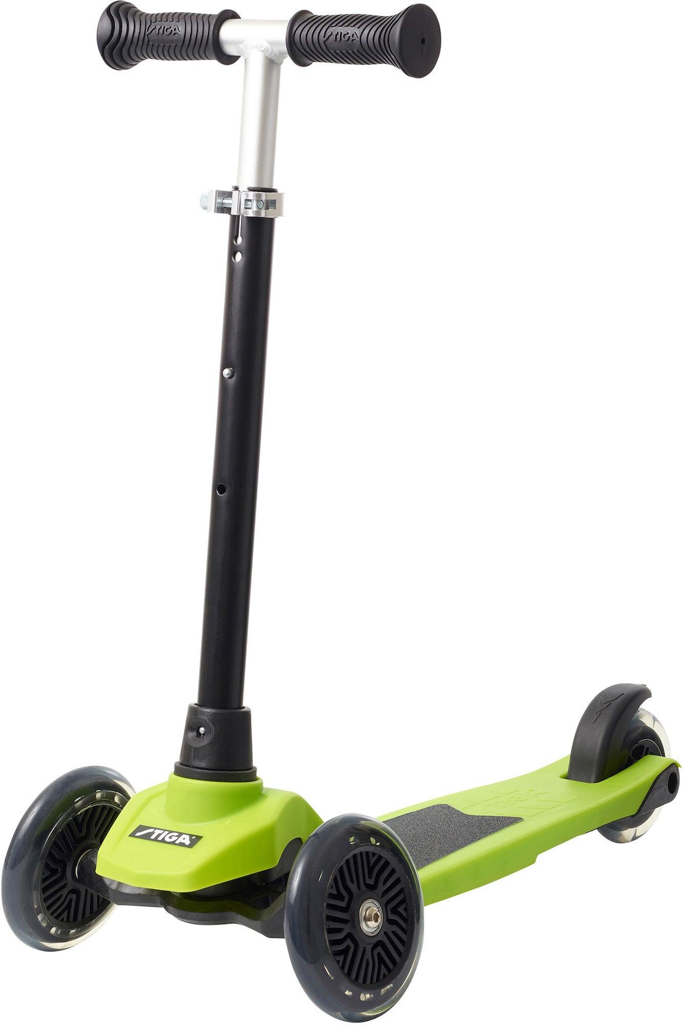 STIGA Sparkcykel Trehjuling Supreme+ 12 tum, Grön
