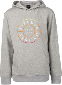 Rip Curl Neon Donut Hoodie, Cement Marle