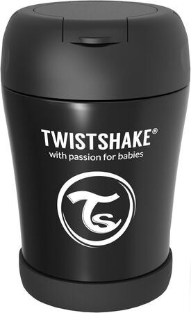 Twistshake Matburk 350ml, Svart