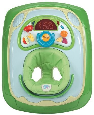 Chicco Lära-Gå-Stol Band Baby Walker Green
