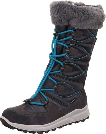 Superfit Merida GORE-TEX Vinterstövel, Grey/Blue