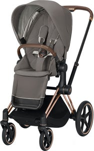 Cybex Priam Sittvagn, Soho Grey/Rose Gold