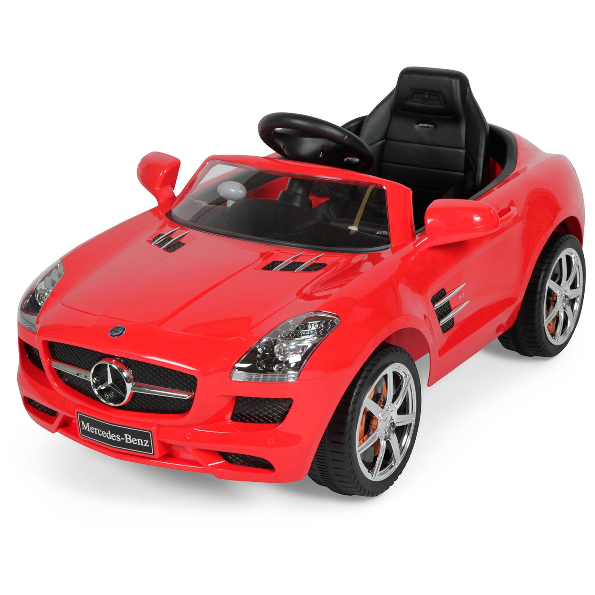 Mercedes SLS AMG Elbil, Röd