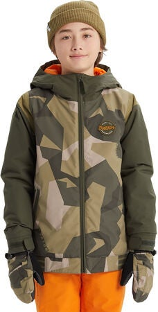Burton Boys Gameday Jacka, Three Crowns Camo