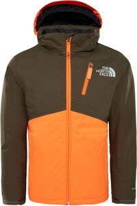 The North Face Snowquest Insulated Jacka, New Taupe Green