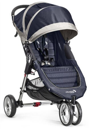 Baby Jogger City Mini Duovagn, Blue/Grey