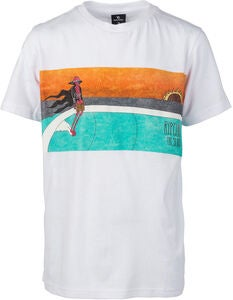 Rip Curl Dead Sled T-Shirt, Optical White
