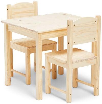 Woodlii Runt Picknickbord Med Parasoll, Vit