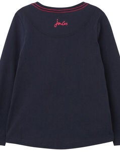 Tom Joule Ava T-shirt, Navy Camera