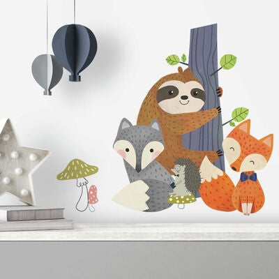 RoomMates Wallsticker Forest Friends