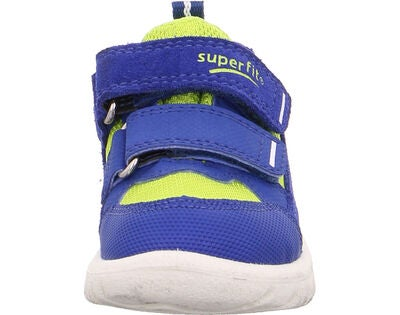 Superfit Sport7 Mini Sneaker, Blue/Yellow
