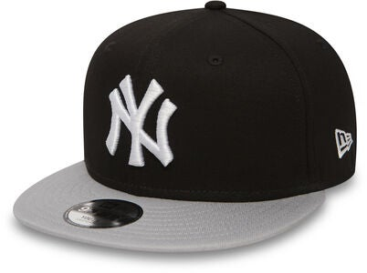 New Era MLB Kids Cotton Block Keps, Black
