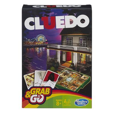 Hasbro Cluedo Spel Travel Refresh