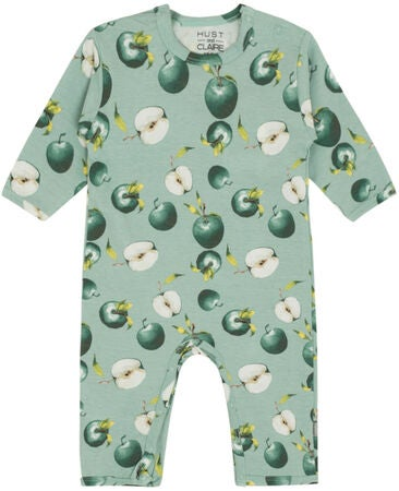 Hust & Claire Mama Jumpsuit, Green Sea